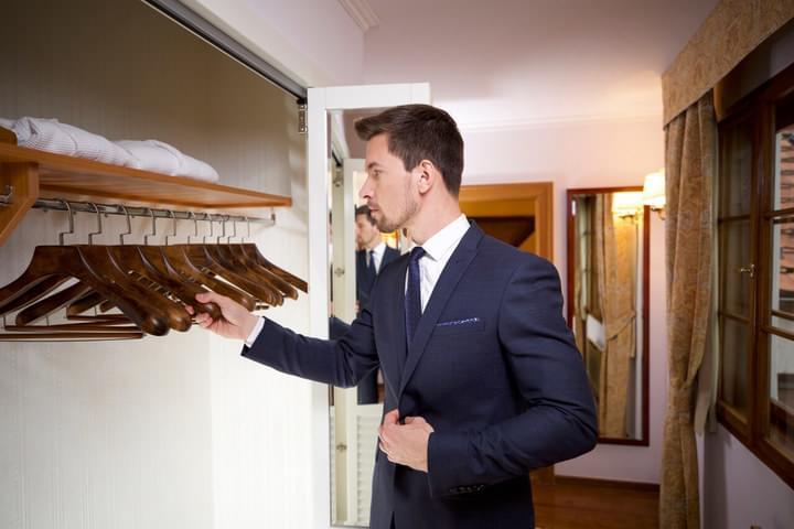 Luxus-Kleiderbügel für den Laden