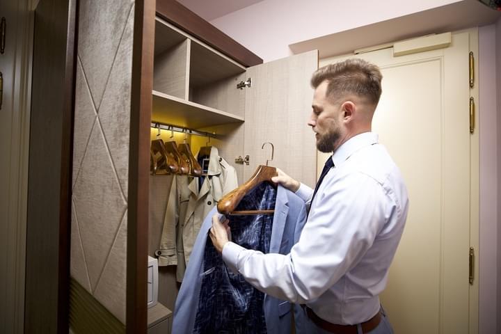 Garderobe-Ausstattung